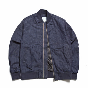 "XERO - Washed Denim Blouson ""Indigo"""