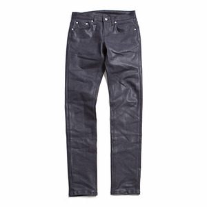"XERO - Gleam Coated Jeans ""Indigo"" Wrinkled Fit"