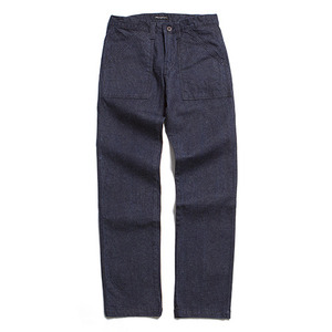"XERO - British Fatigue Pants ""Linen Denim"""