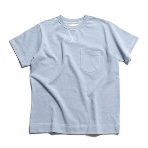 "XERO - Heavyweight Cotton Pocket-T ""Powder Blue"""
