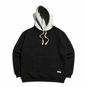 "XERO - Hooded Sweatshirt ""Black / Grey"""