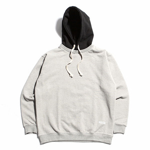 "XERO - Hooded Sweatshirt ""Grey / Black"""