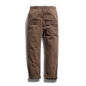 "XERO - Broken Cotton Pocket Pants ""Brown"""