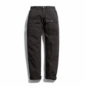 "XERO - Broken Cotton Pocket Pants ""Black"""