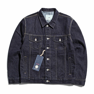 "XERO - Oversized Denim Jacket ""Washed Indigo"""