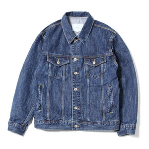 XERO - Oversized Denim Jacket (Mid Indigo)