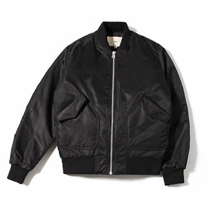 XERO - Shell Bomber Jacket (Black)