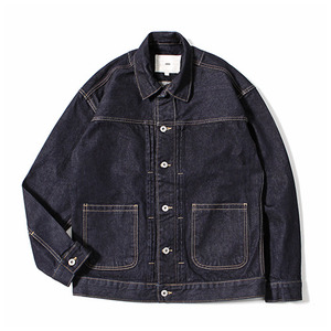 XERO - Oversized Type-2 Denim Jacket (Vintage Indigo)