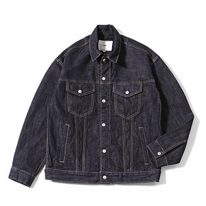 XERO - Denim Jacket Snap closure (Dark Indigo)