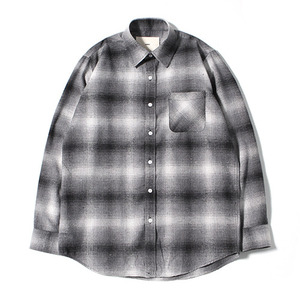 XERO - Big Check Nap Shirts (Grey)