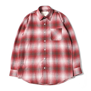 XERO - Big Check Nap Shirts (Red)
