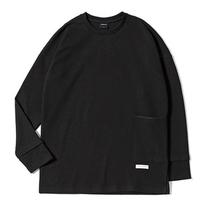 XERO - Big Pocket Layerd T-Shirt (Black)