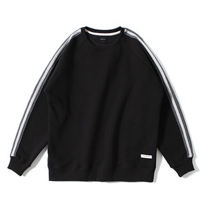 XERO - Tape Raglan Sweatshirt (Black)