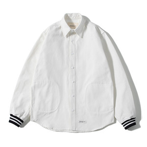 XERO - Varsity Shirts Jacket (White)