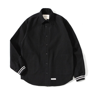 XERO - Varsity Shirts Jacket (Black)
