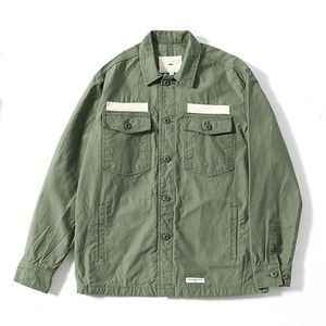 XERO - Military Shirts Jacket (Khaki)