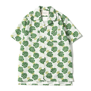 XERO - Greenery Leaf Hawaiian Shirts