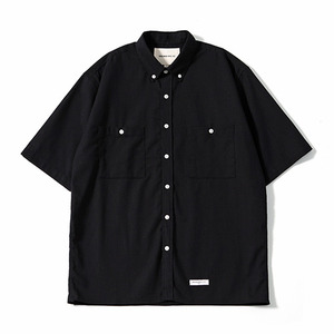 XERO - Oversize Solid Linen Shirts (Black)
