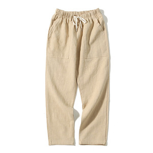 XERO - Linen Fatigue Pants (Beige)