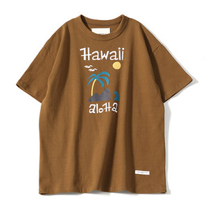 XERO - Aloha Hawaii T-Shirts (Brown)