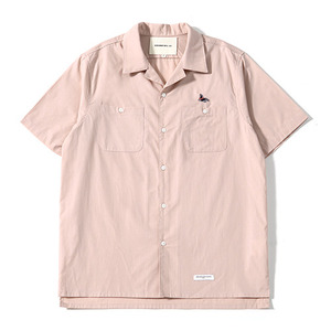 Sealion -  Hawaiian Shirts (Pale Pink)