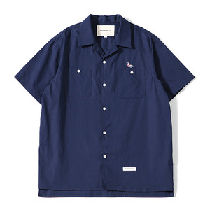 Sealion - Hawaiian Shirts (Navy)