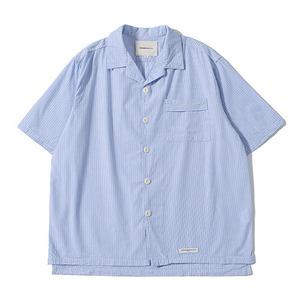 XERO - Ticking Stripe Shirts (Blue)